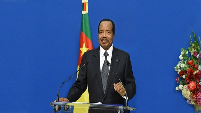 Southern Cameroons Crisis: Paul Biya speaks to the nation tomorrow