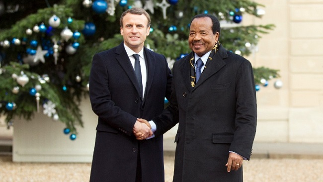 Francophone media, political elites accuse France and the US of plot to kill Biya