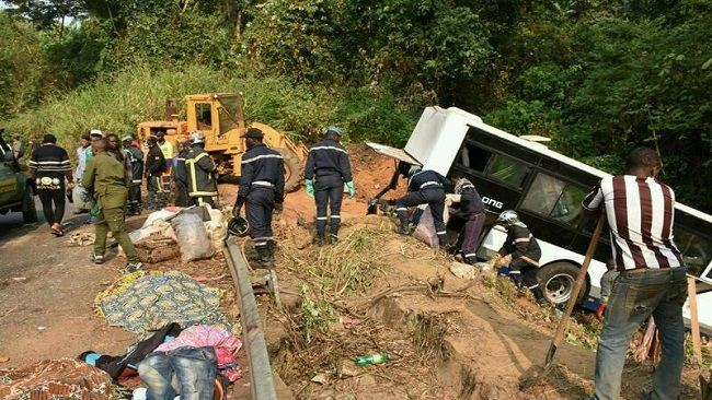 West Region: Bus crash kills at least 21, injures 38