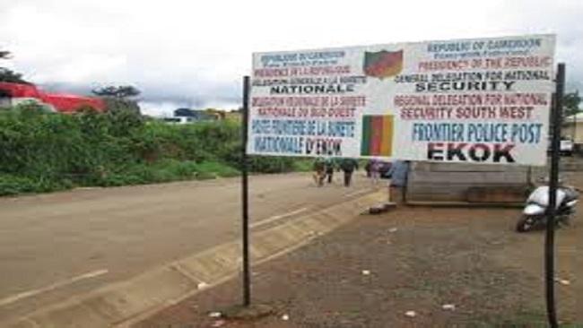 War in Ambazonia: Cameroon armed forces destroys fuel worth 400 million FCFA in Ekok