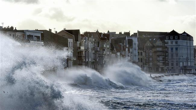 Europe hit by storm Eleanor, causing disruptions