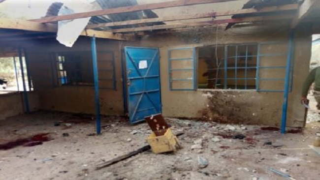 Suicide blast on a mosque on Nigeria's border with Cameroon kills 14