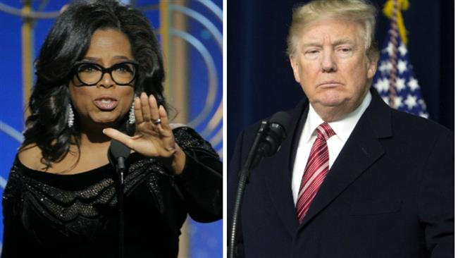 US: Trump says he could beat Oprah in 2020 US election