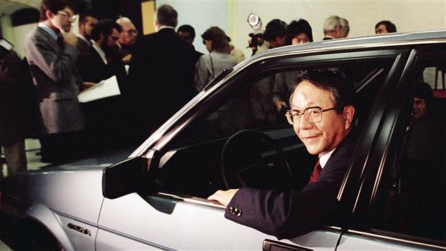 Former CEO of Japan's Toyota dies at 88