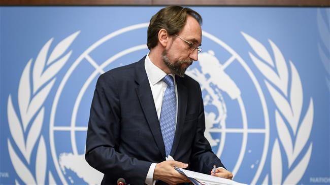 UN human rights chief says permanent members of the Security Council second only to criminals