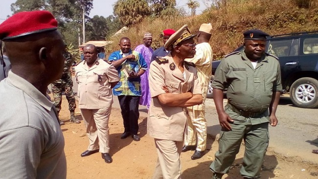 Southern Cameroons Crisis: Governor Lele LAfrique convoy attacked by Amba fighters