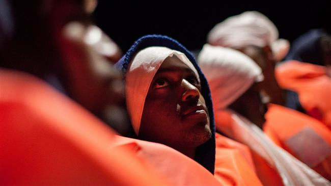 Hundreds of refugees rescued at sea between Libya, Italy