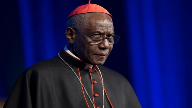 Cardinal Sarah: High-ranking prelates are trying to change Christian morality