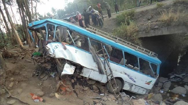 38 students dead in Ethiopia bus crash
