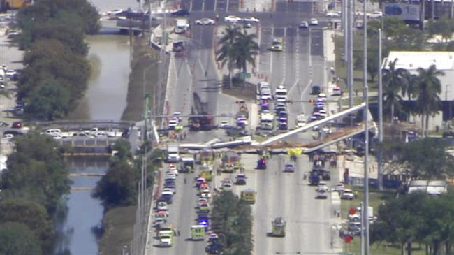 Several killed when bridge collapses at Florida university