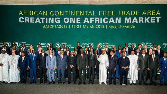 44 African states sign free trade area pact