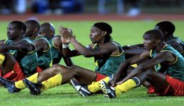 On This Day In 2002: FIFA Bans Cameroon's Sleeveless Shirts