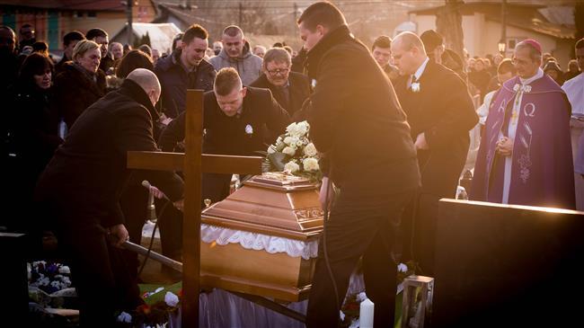 Slovania: Slain journalist buried