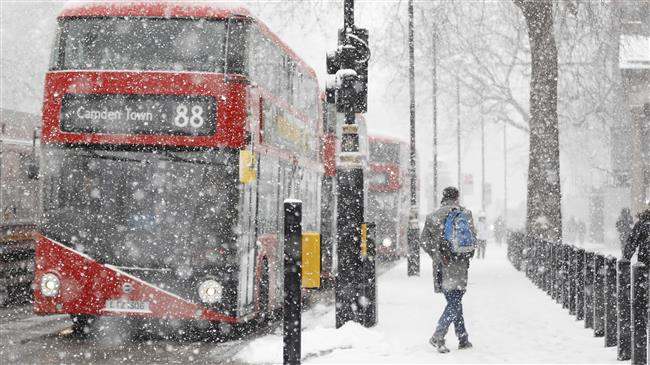 UK running out of gas amid new cold wave
