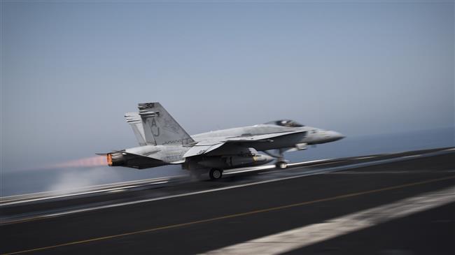 US Navy F-18 jet crashes, killing two aviators