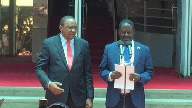"Kenya: President Uhuru Kenyatta calls opposition leader Raila Odinga ""his brother"""