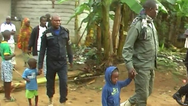Yaounde: Biya regime says it busted regional child trafficking ring