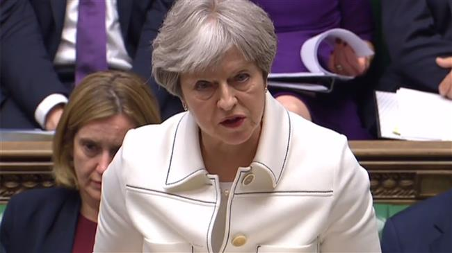 May says UK strikes on Syria were in national interest