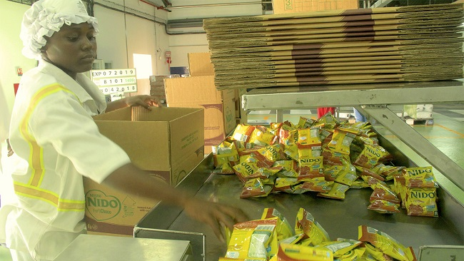 Nestlé Cameroon inaugurates new Nido powdered milk facility