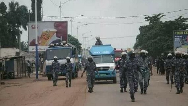 Togo police crack down on anti-government protesters