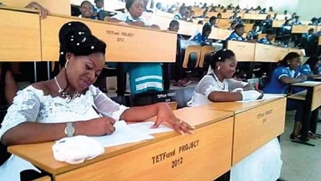 Nolly Nigeria: Brides abandon wedding reception to write final exams