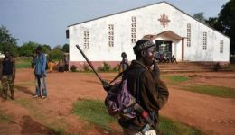 9 die in attack on church in Central African Republic