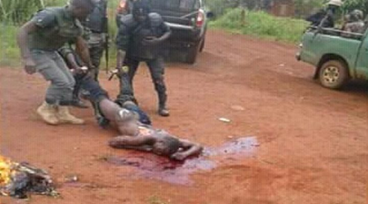 The Kill Team: How Francophone Soldiers are Murdering Innocent Southern Cameroons Civilians