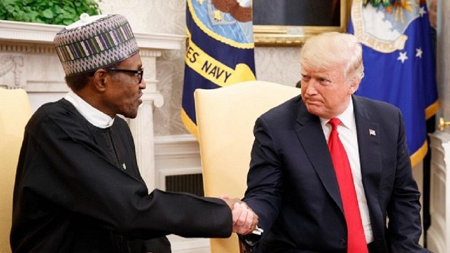 Trump praises Nigeria's role in the fight against terrorism