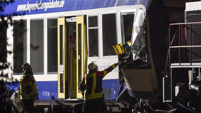 Trains collide in Germany, at least 2 killed