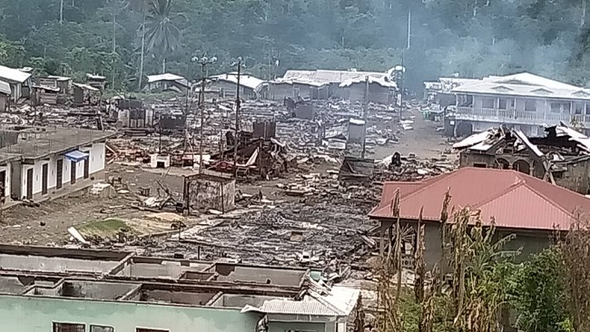 Homes, villages burned as Francophone soldiers targets Southern Cameroons Fighters
