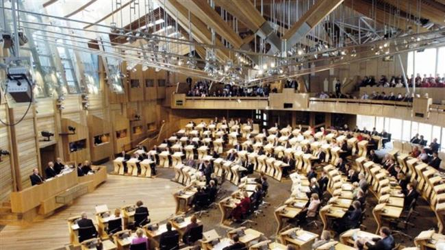 Scottish parliament decisively rejects May's EU withdrawal bill