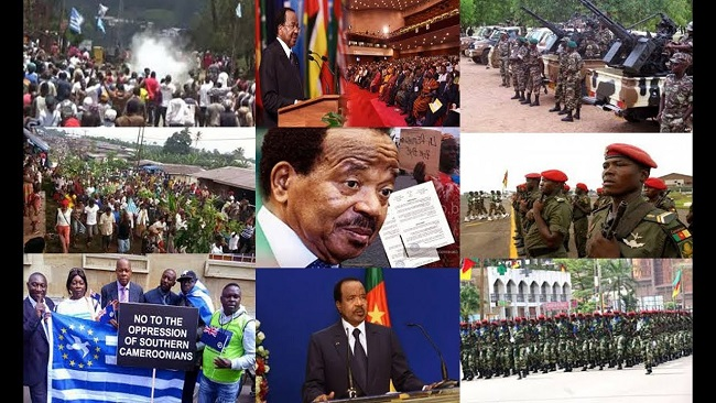 Southern Cameroons War: Biya implementing an aggressive and destructive policy