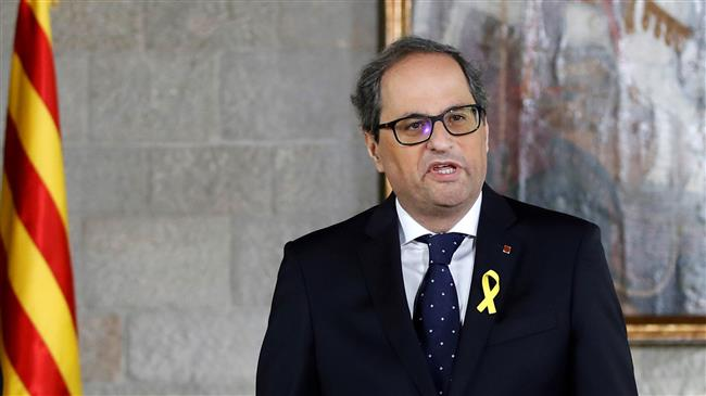 Secession: New Catalan leader shuns Spanish constitution
