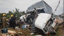 48 killed as Uganda bus rams into tractor, truck