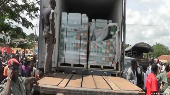 Biya regime batting Insurgencies, Illegal Weapons