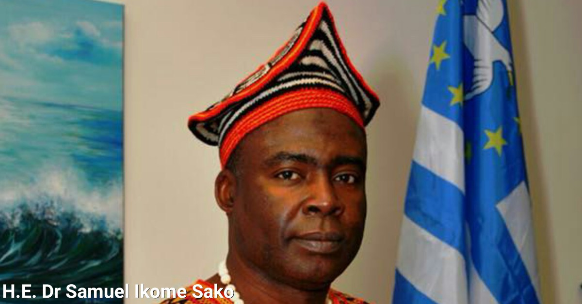 Dr Ikome Sako: Ambazonia's corruption-plagued Acting president should resign