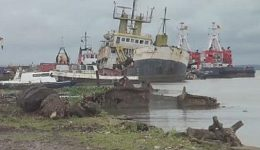 Biya regime begins operations to clear boat wrecks off Douala port