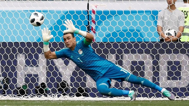 Russia 2018: Egypt's eliminated, but record breaking goalkeeper saves penalty
