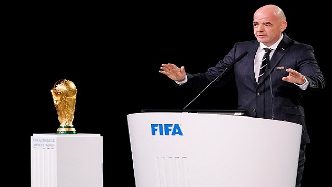 Internationl Olympic Committee: Infantino takes Blatter's empty seat