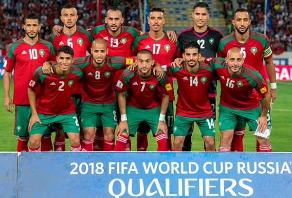 Russia 2018: Morocco team hold final training session before Iran clash