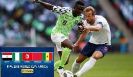 Nigeria, Lionel Messi's Argentina in action on Day 3 of 2018 FIFA World Cup