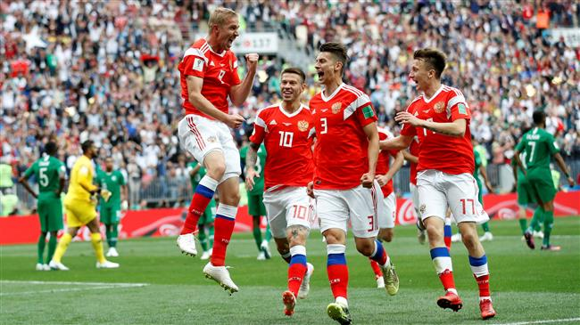 Russia begin 2018 FIFA World Cup with 5-0 win over Saudi Arabia