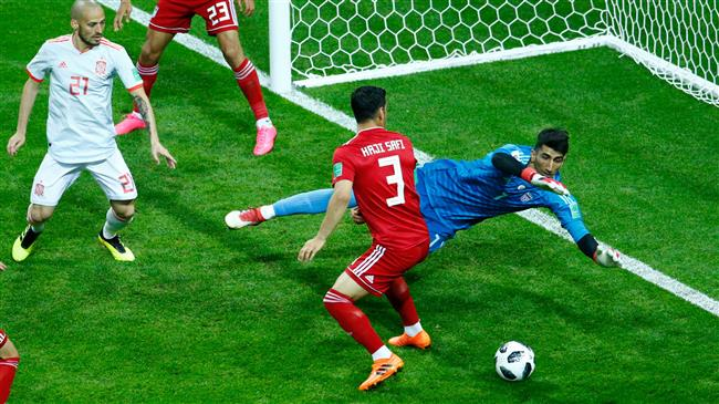 Russia 2018: Lucky Diego Costa goal sees Spain past tenacious Iran