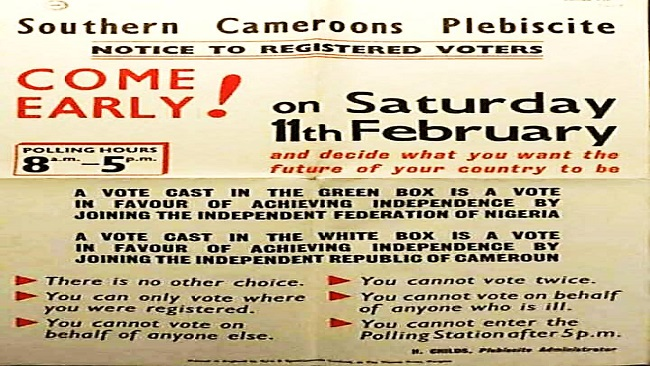 Cameroon was never ONE: The AGBAW-EBAI DEBATE