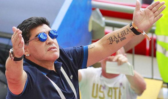 Football: Diego Maradona admitted to hospital in Argentina