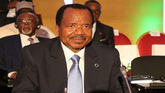 Biya shamed for late condolence message to President Uhuru Kenyatta