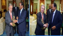UN Secretary General Antonio Guterres declares he will seek a second term