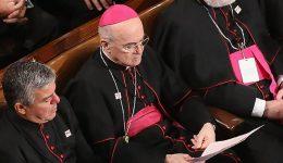 Archbishop Vigano: Corruption has reached top at Catholic Church