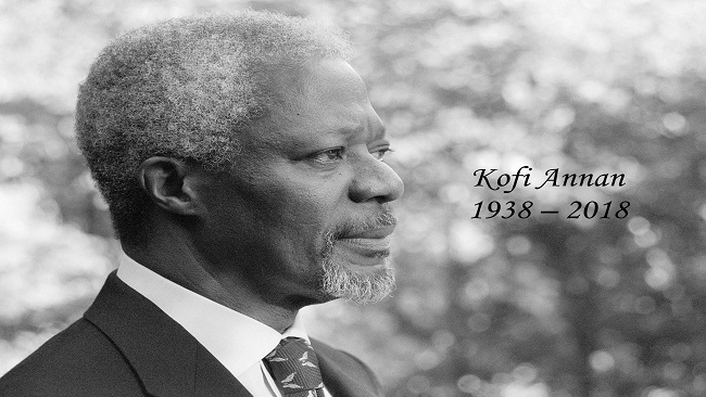 End of Earth Task: Kofi Annan goes home to rest