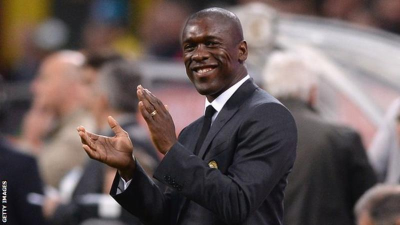 Clarence Seedorf: New Cameroon boss signs four-year deal